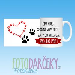 """""""Čím vias spoznávam ľudí, tým viac milujem svojho psa"""""""