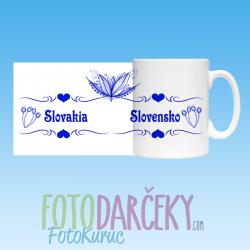 """Hrnček """"Slovensko/Slovakia"""""""