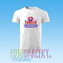 """Detské tričko """"Fandím Slovensku"""""""