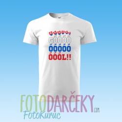 """Detské tričko """"GÓÓÓÓL"""""""