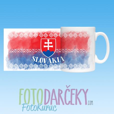 """Hrnček """"Slovakia"""""""