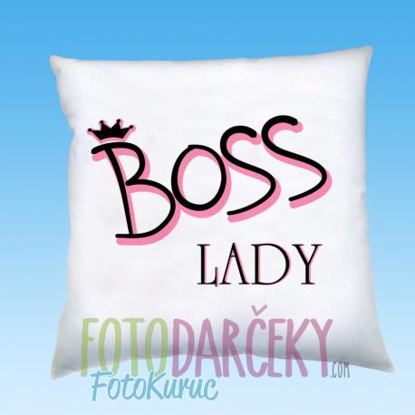"""Vankúš """"BOSS lady"""""""