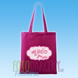 """Bavlnená taška """"#jedlo"""""""