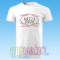 """Pánske tričko """"Kríza 2020"""""""