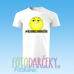 """Pánske tričko """"#NEZOHNALSOMDROŽDIE"""""""