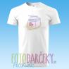 """Pánske tričko """"Jahodové mlieko"""""""