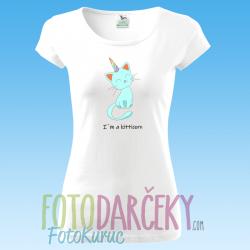 """Dámske tričko """"I'm a kitticorn"""""""
