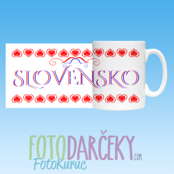 "Hrnček ""Slovensko"""