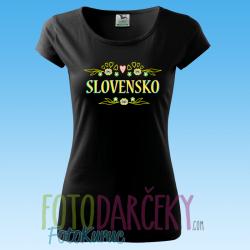 "Dámske tričko ""Slovensko"""