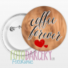 "Odznak 58mm ""coffee forever"""