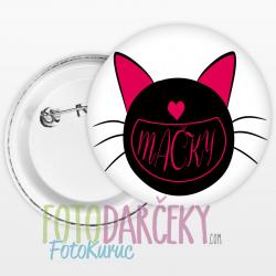 "Odznak 58mm ""Mačky"""
