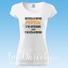 "Dámske tričko ""Outstanding Person"""