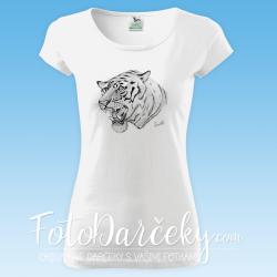 """Dámske tričko """"Tiger"""""""