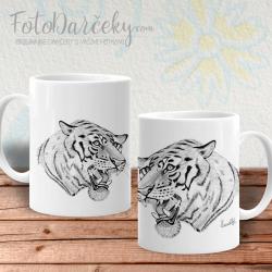 Hrnček s tigrom