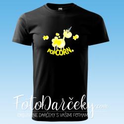 """Pánske tričko """"popCORN"""""""