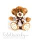 Plyšová hračka - Macko s mašličkou