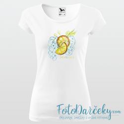 """Dámske tričko """"Citrusy - Summer"""""""