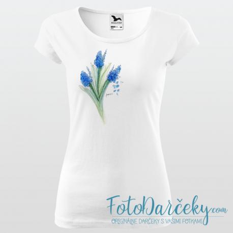 """Dámske tričko """"Hyacinty"""""""