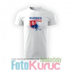 """Detské bavlnené tričko """"Hokej Slovakia"""""""