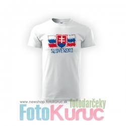 """Detské bavlnené tričko """"Slovensko 2"""""""