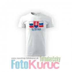 """Detské bavlnené tričko """"Slovakia 2"""
