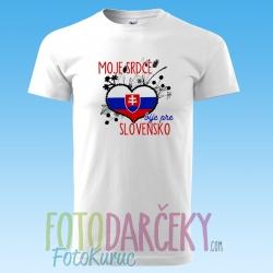 """Pánske tričko """"Slovensko"""""""