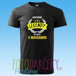 """Pánske tričko """"Skutočné legendy"""""""