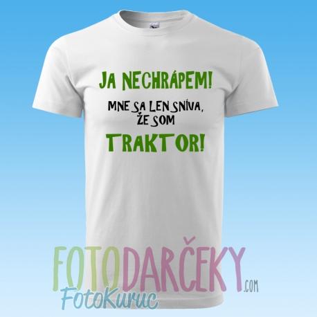 "b70a955ddc2 Pánske tričko ""Ja nechrápem!"" - FOTODARČEKY FOTO-KURUC - Potlač na ..."